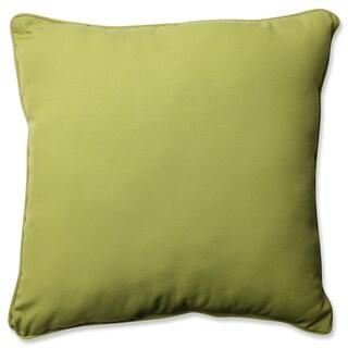 Pillow Perfect Outdoor/ Indoor Fresco Pear 23-inch Floor Pillow