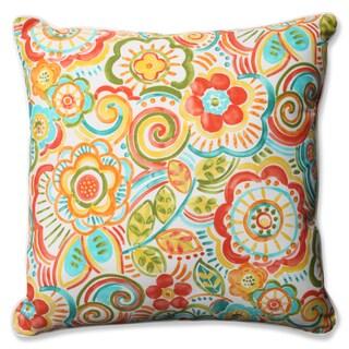 Pillow Perfect Outdoor/ Indoor Bronwood Carnival 23-inch Floor Pillow