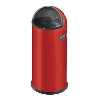 Hailo Quick 50-Liter Waste Bin (Option: Red)
