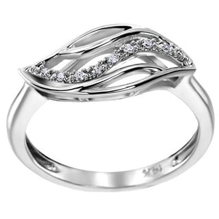 SummerRose 14k White Gold Diamond Accent Fashion Ring