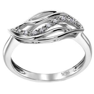 SummerRose 14k White Gold Diamond Accent Fashion Ring