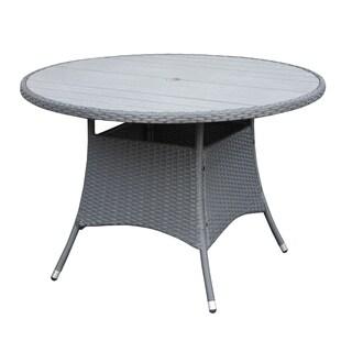 Portfolio Aldrich Grey Indoor/Outdoor Round Dining Table