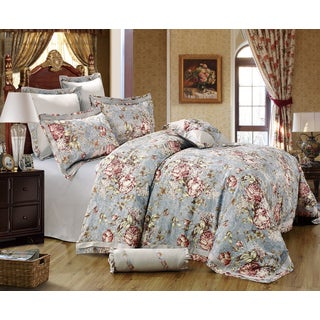 Sherry Kline Gwyneth 8-piece Sateen Luxury Comforter Set