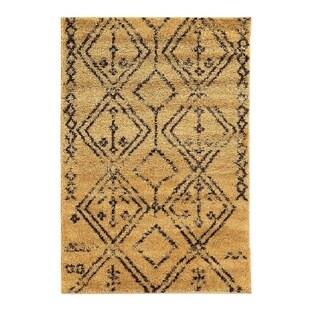 Linon Moroccan Fes Camel/Brown Rug (8' x 10')