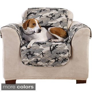 Sure Fit Camouflage Chair Furniture Protector