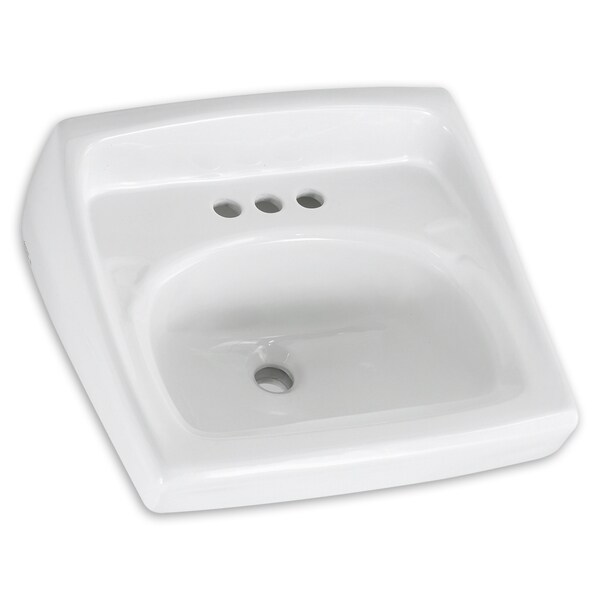 American Standard Lucerne White Wall-mount Porcelain Bathroom Sink ...