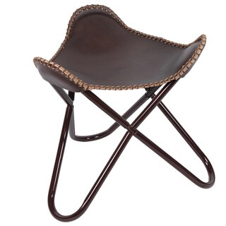 Butterfly Stool/Footrest in Brown