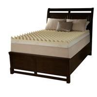 Grande Hotel Dorm Big Bump 3-inch Twin XL-size Memory Foam Mattress Topper
