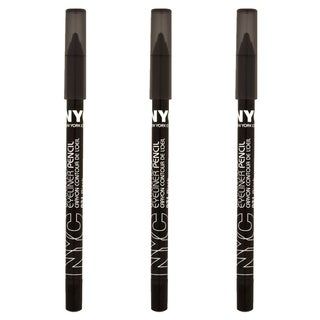 NYC Proof 24-hour WP Black Eyeliner (Pack of 3)