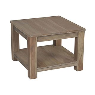 Moselle Brown Rectangle End Table