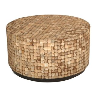 Tupelo Tan Round Coffee Table