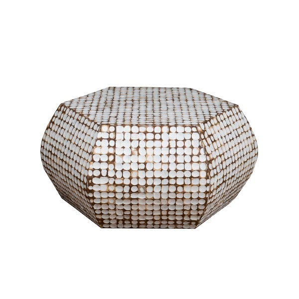 Incroyable Waveland Off White Geometric Coffee Table