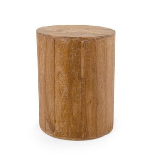 Albany Brown Round Side Table