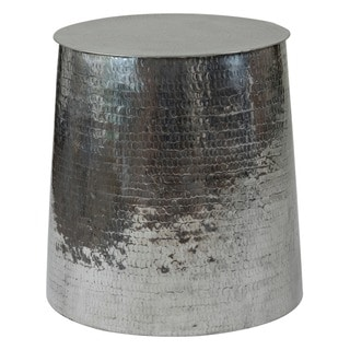 Chardon Silver Round Side Table