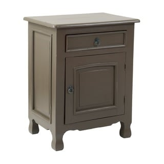 Delphos Grey Square Side Table
