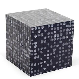Ironton Black Square Side Table