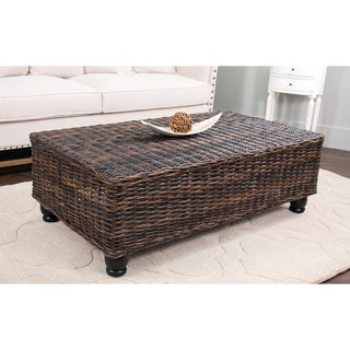 Lorain Brown Rectangle Coffee Table