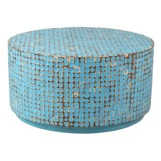 Lyndhurst Blue Round Coffee Table