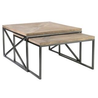 Moraine Tan Square Table Set