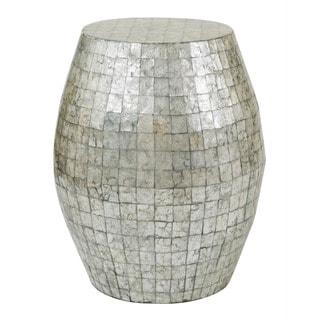 Baldwyn Grey Round Side Table