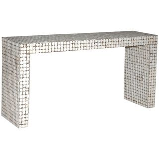 Caryville White Rectangle Console Table
