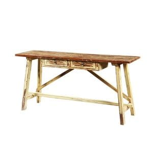 Davenport Tan Rectangle Console Table