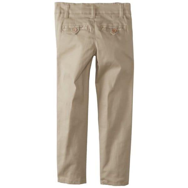 Eddie Bauer Little Girls Welt Pocket Stretch Skinny Pants