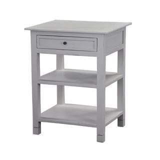 Haysville Casual Off-White Square Accent Table