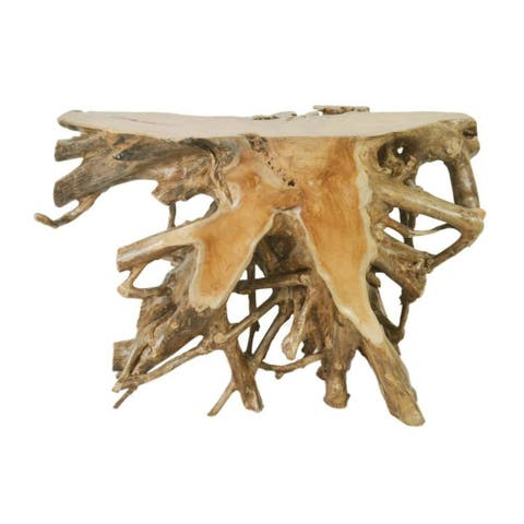 East At Main's Chanute Rustic Brown Specialty Console Table