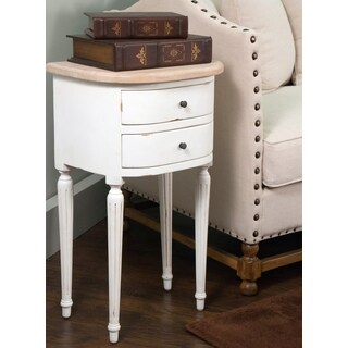 Gardner Casual White Specialty Side Table