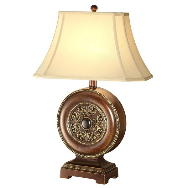 Classic Ornamental Table Lamp with Flare Shade