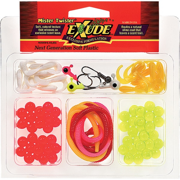 Mister Twister Exude Trout Kit 47 Products