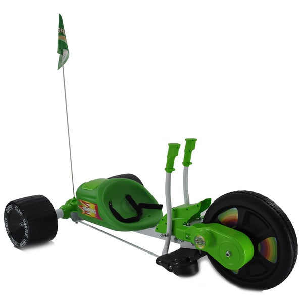 Fun Wheels Green Stunt Wheelie