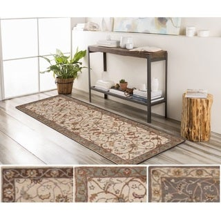 Hand-Tufted Toby Wool Rug (3' x 12')