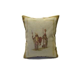 Corona Decor Safari Tribesmen Decorative Pillow