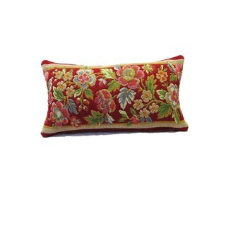 Corona Decor Vintage Floral Decorative Pillow