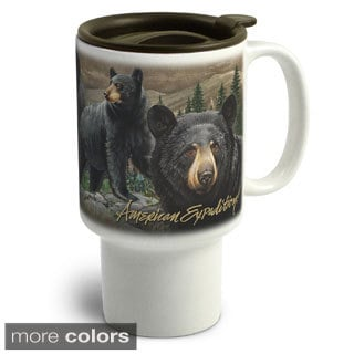 American Expedition Wildlife Collectio Stoneware Travel Mug