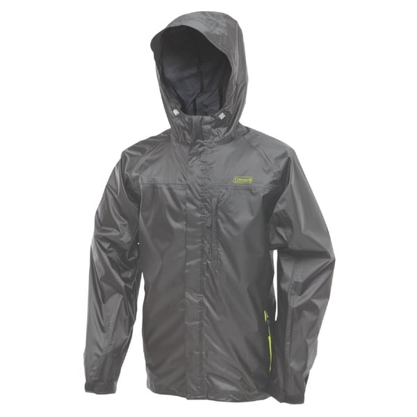 Coleman Rainwear Danum Jacket Grey/ Green Medium