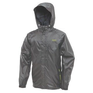 Coleman Rainwear Danum Jacket Grey/ Green Medium