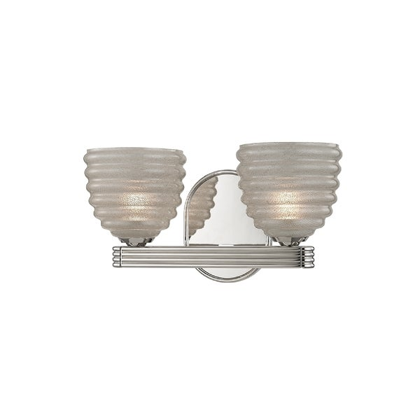 Hortons Lighting Outlet: Shop Hudson Valley Thorton 2-light Nickel Vanity With