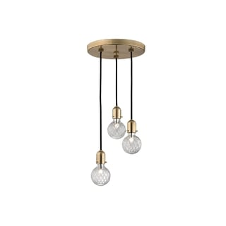 Hudson Valley Marlow 3-light Brass Pendant