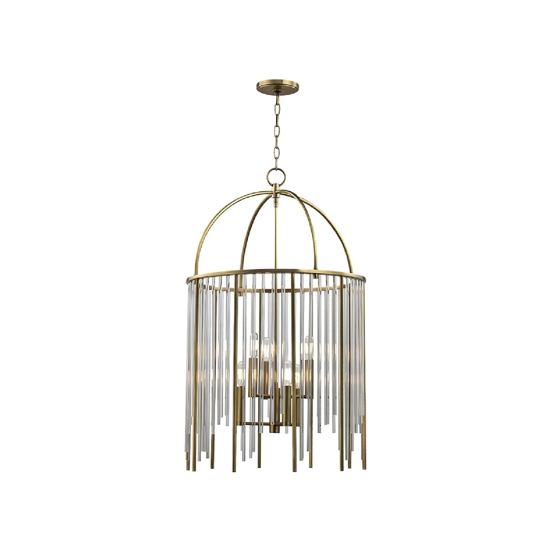 Hudson Valley Lighting Lewis 6-light Brass Pendant (Aged ...