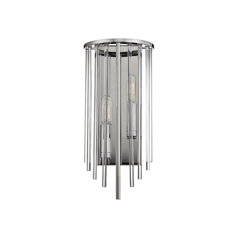 Hudson Valley Lighting Lewis 2-light Nickel Sconce (Polis...
