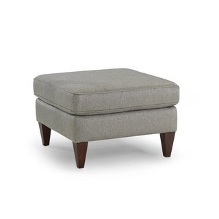 Avery Nickel Ottoman