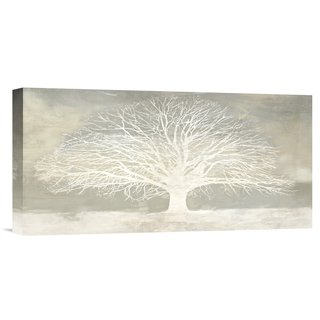 Global Gallery Alessio Aprile 'White Tree' Stretched Canvas Artwork (2 options available)