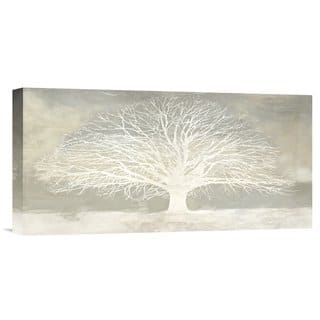 Global Gallery Alessio Aprile 'White Tree' Stretched Canvas Artwork