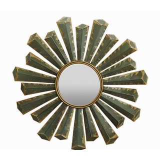 Gallerie Décor Starburst Metal Wall Mirror