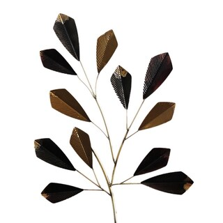 Gallerie Decor 'Cut Leaves' Metal Wall Art