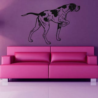 Dog Pet Vinyl Sticker Wall Art