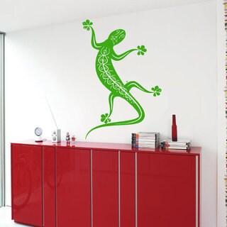 Lizard Vinyl Sticker Wall Art